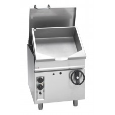 700 series NG 50 litre crank tilting bratt pan with SS burner and Temp control 700 x 780 x 900mm
