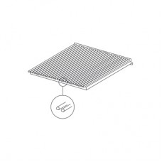 Queen7 Stainless steel fish grid 400mm