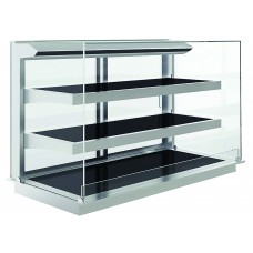 Heated Open-Fronted Drop-In Grab'Ngo Display Cabinet - 3 Shelves - 1125mml X 700mmd