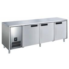 L-PW6T2HH Deep 2 Door S/S Slimline 660mm Underbench Freezer