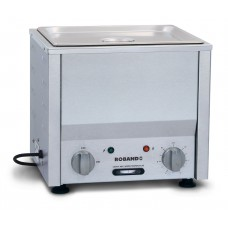 Counter Top Bain Marie, One 1/2 pan, 200mm round pot & lid included