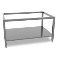 Queen7 Stainless steel stand with shelf 1200mm