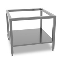 Queen7 Stainless steel stand with shelf 800mm