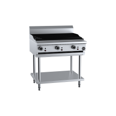 B+S Black Char Broiler 900mm