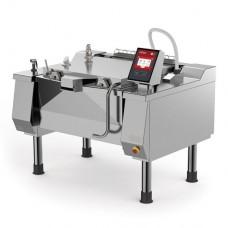 Firex DBRE 110A-C V1 Betterpan - Direct electric heating pressurised tilting bratt pan with basket lift 110L
