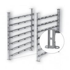 GENIUS MT 6-11 EHG Vario (GN/BN 64) Hanging rack 7 levelsx67mm distance