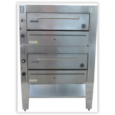 Double Deck Pizza and Bake Oven - SS Door