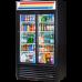 TRUE GDM-37-LD Slide Door Refregerated Merchandiser with LED Lighting - 1059L