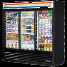 TRUE GDM-72~TSL01 3 Glass Door Refregerated Merchandiser - 2039L
