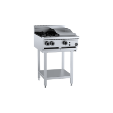 K+ Combination Two Open Burners 300mm Grill Plate