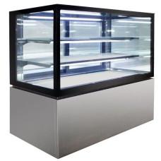 H-NR730V Square Glass 3 Tier Hot Display 900mm - 285lt