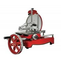 Traditional flywheel slicer, red blade diameter 320mm