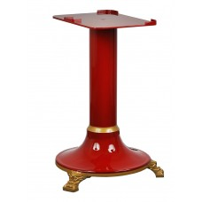 Cast iron stand suited to the Red Retro flywheel slicer