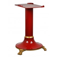 Cast iron stand suited to the red Traditional flywheel slicer