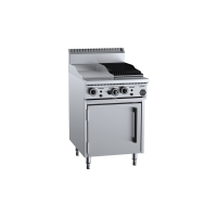 B+S Black Oven With 300mm Grill Plate 300mm Char Broiler