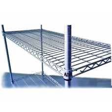 Atlas 18247EPL 4 Shelf Wire Shelving Kit - 610mmX455mm
