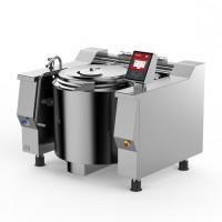 Baskett - Indirect steam heating tilting kettle with mixer 70l
