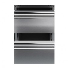 Queen7 Stainless steel drawers kit for cabinets. 2/1GN