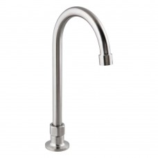 12 Stainless Steel Hob Mounted Gooseneck Spout Tap