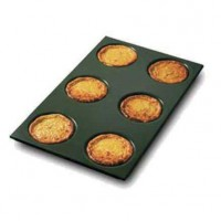 Non-stick aluminium pan for omelettes
