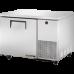 TRUE TUC-44 44, 1 Solid Door Deep Undercounter Refrigerator