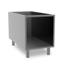 Queen7 Stainless steel open cabinet 400mm