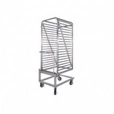Additional roll in/out trolley for model OPV..202. Takes 20x2/1 GN trays (HKS 202). 690x835x1710mm