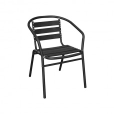 Alfresco Aluminium Armchair (Black)
