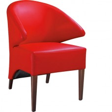 Armchair Azure Red