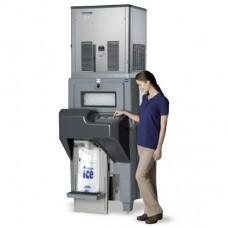 Automatic Ice Bagging Storage Bin
