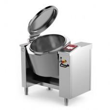 Baskett - Tilting jacketed pressurised kettle indirect electric heating 80L