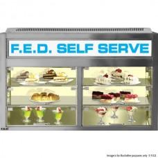 F.E.D. PS1400 Bellevista Chilled Pass-Thru Display