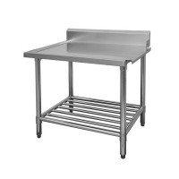 Stainless Dishwasher Outlet Bench RHS 600mm
