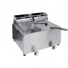 Birko 1001004 Benchtop Fryer - 8Ltr Twin 15Amp