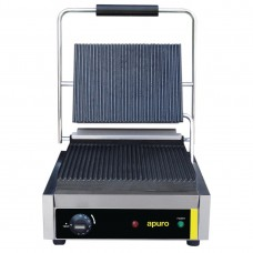 Apuro BP 02380 Bistro Contact Grill - Large (Ribbed/Ribbed) - AUS PLUG