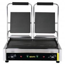 Apuro BP 02386 Bistro Double Contact Grill Flat Plates - AUS PLUG