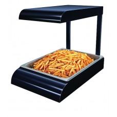 Black Glo Ray Portable Food Warmer/Chip Dump