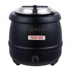 Apuro RDS-100 Black Soup Kettle - 10Ltr - AUS PLUG