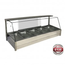 Angled Countertop Heated Bain Marie 10X½Gn