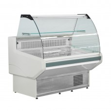 F.E.D. NSS1200 Bonvue Curved Deli Display - 1280mm