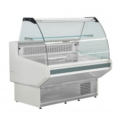 F.E.D. NSS1500 Bonvue Curved Deli Display - 1580mm