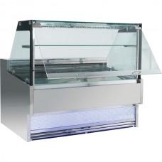 F.E.D. FGDR1800LS Bonvue Square Deli Cabinet - 1800mm