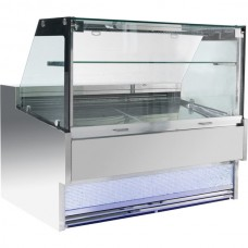 F.E.D. FGDR2100LS Bonvue Square Deli Cabinet - 2100mm