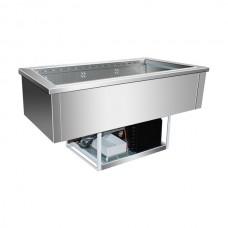 F.E.D. GN3V Buffet Servery Insert 3 × 1/1 GN Pans