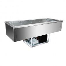 F.E.D. GN4V Buffet Servery Insert 4 × 1/1 GN Pans