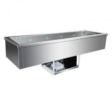 F.E.D. GN5V Buffet Servery Insert 5 × 1/1 GN Pans