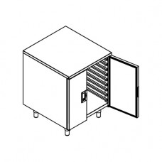 Cabinet with side runners (2/1GN)