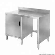 F.E.D. BT05B Cabinet work bench with splashback