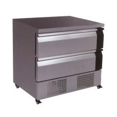 Fridge/Freezer Two Flex drawer Counter - 179 Litre