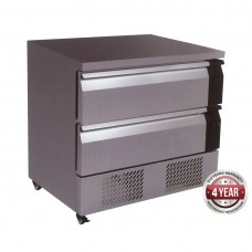 Fridge/Freezer Two Flex drawer Counter - 265Litre